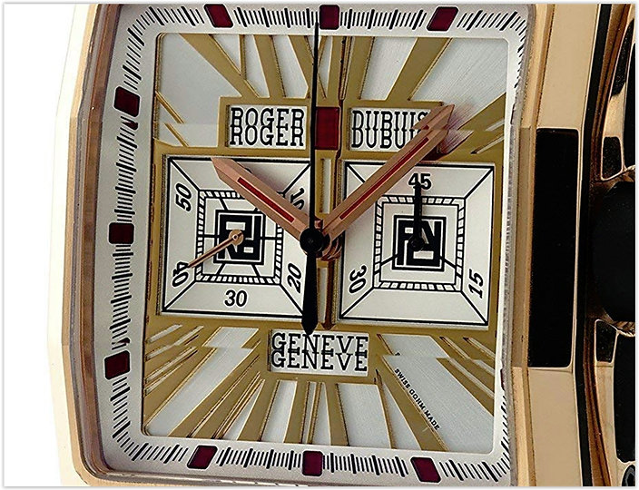 Roger Dubuis King Square mechanical-hand