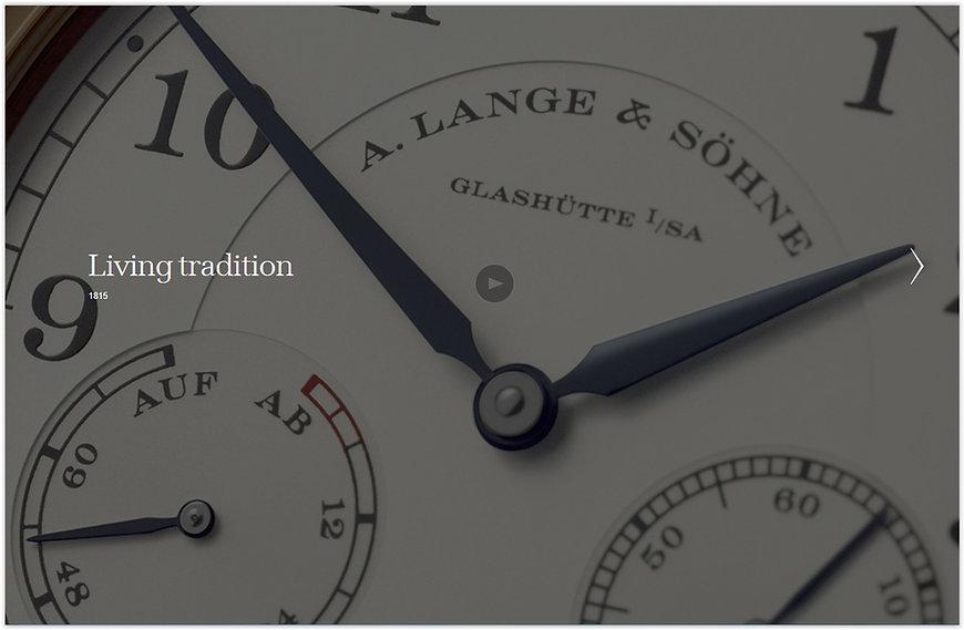 A. Lange & Söhne Luxury Wrist Watches