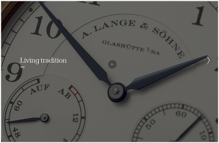 A. Lange & Söhne Luxury Wrist Watches