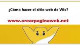 ¿Cómo hacer el sitio web de Wix?