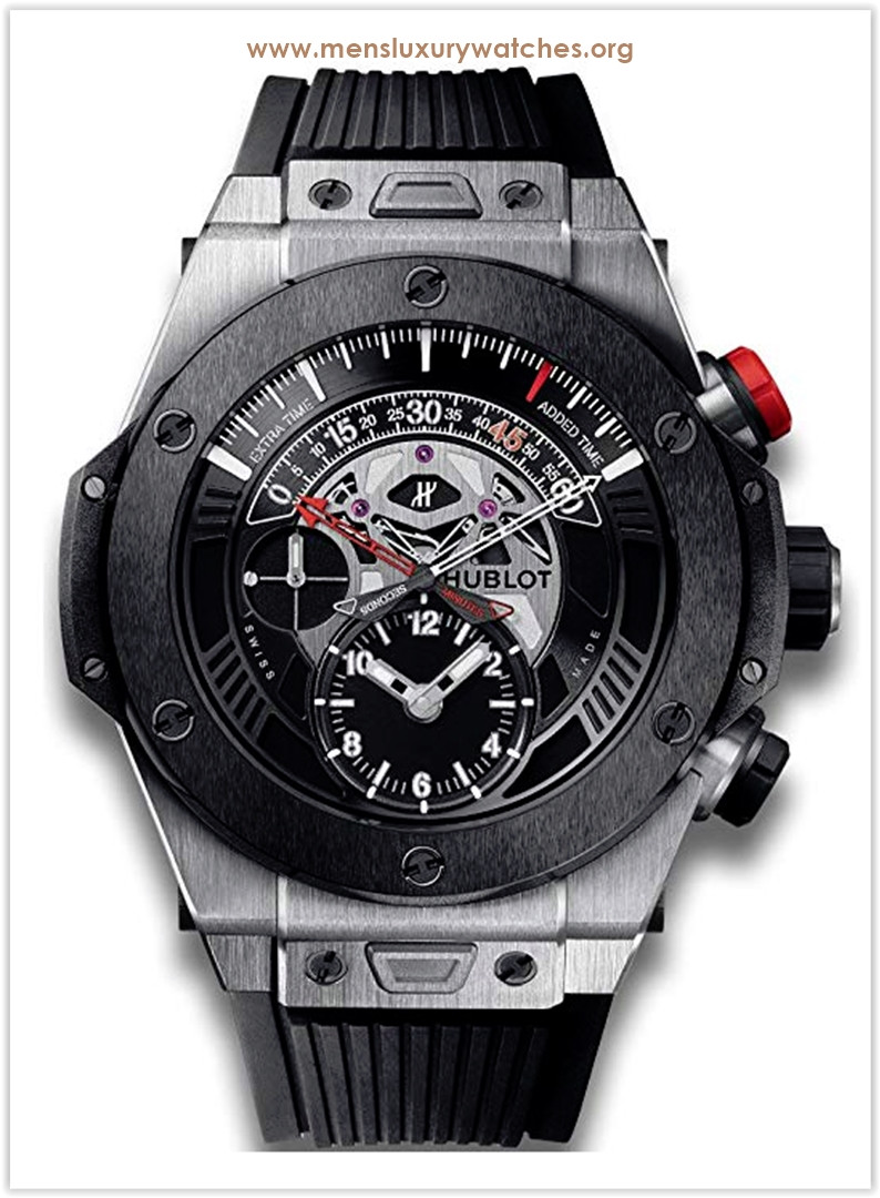 Hublot Big Bang Unico Bi-Retrograde Mat Black Dial Titanium Men's Watch Price