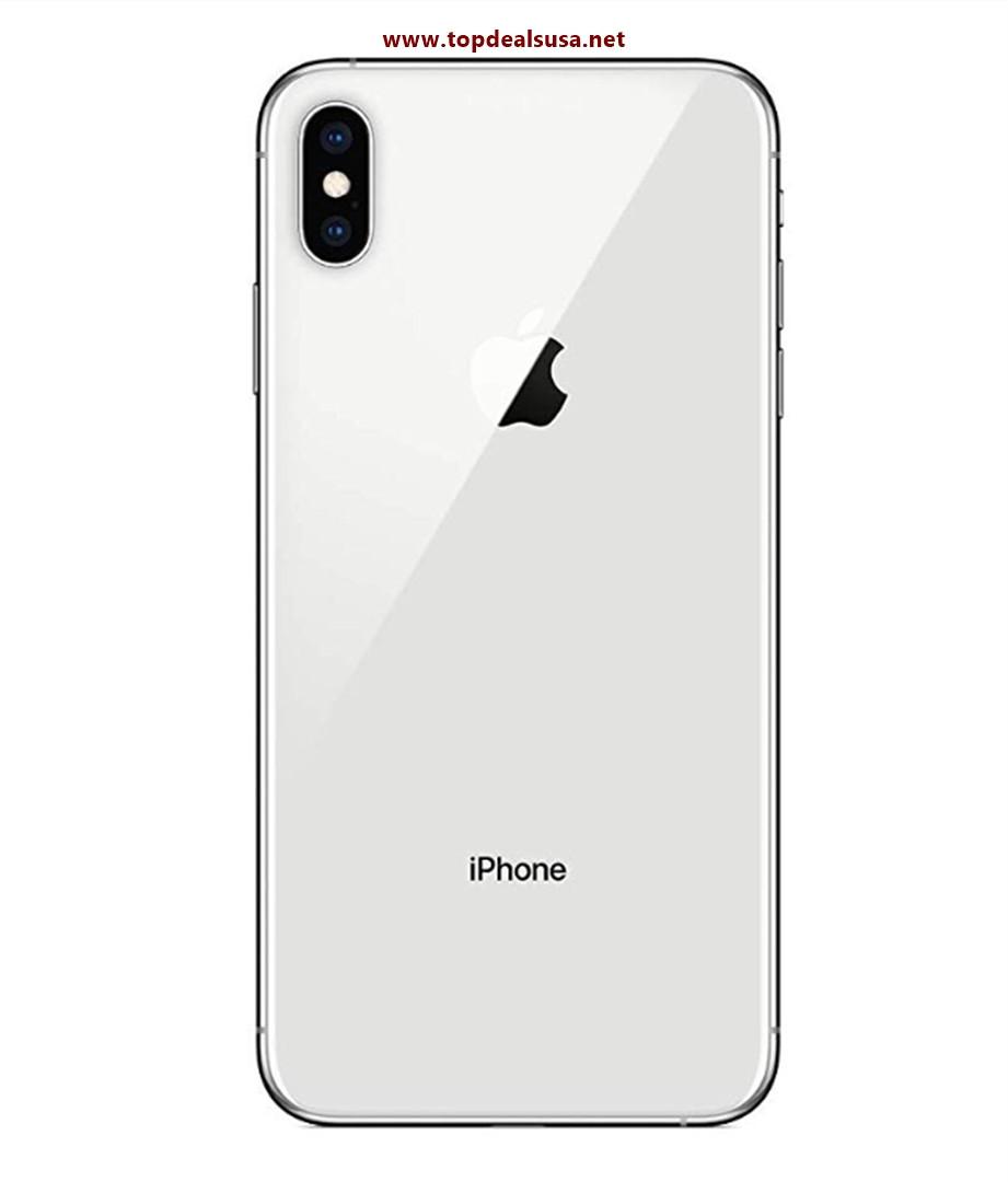 Simple Mobile Prepaid - Apple iPhone XS Max (64GB) - Silver best buy