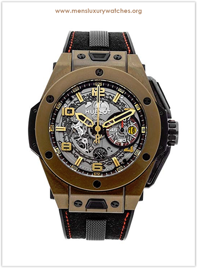 Hublot Ferrari Big Bang Mechanical Silve
