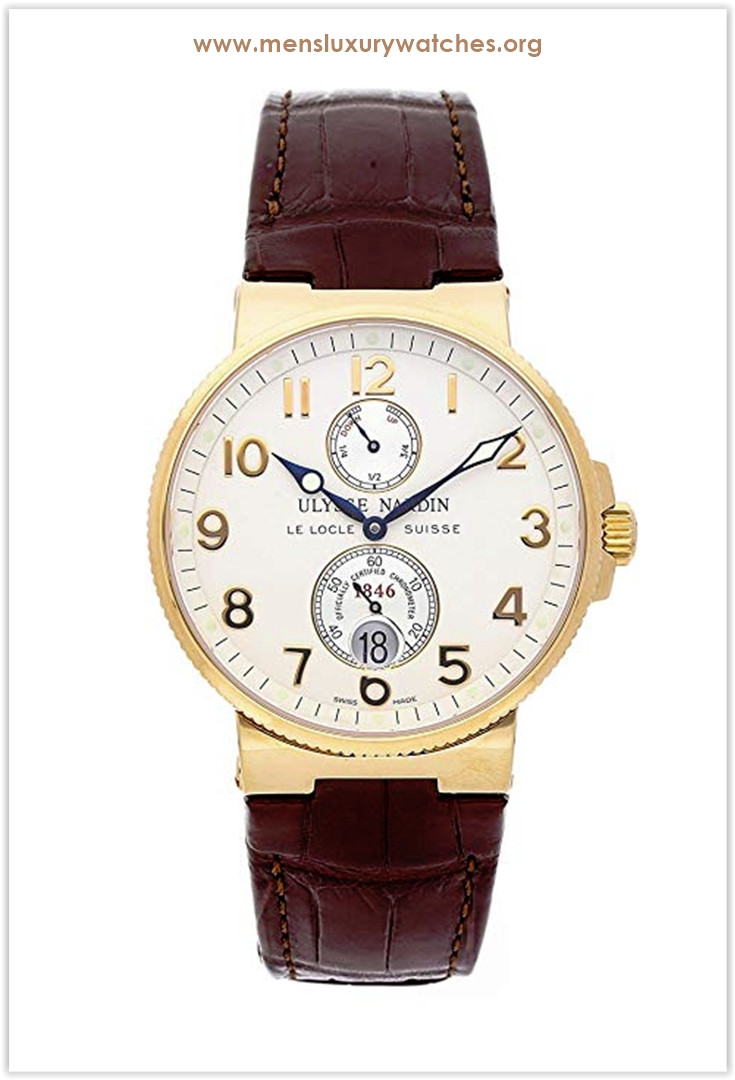 Ulysse Nardin Marine Mechanical (Automatic) Cream Dial Men's Watch the best price