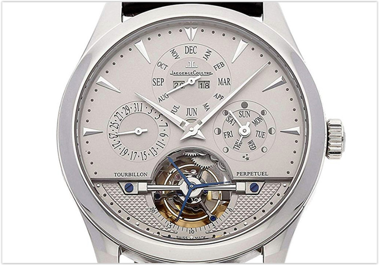Jaeger-LeCoultre Master Mechanical Silver Dial Men's Watch