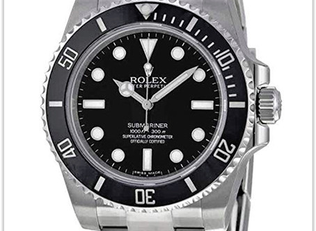 The most popular Rolex Submariner Black Dial Stainless Steel