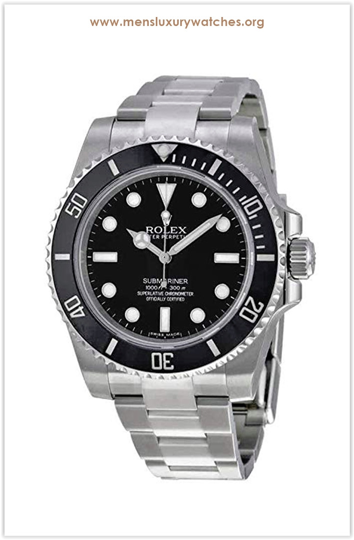 The most popular men's watch in January 2019 Rolex Submariner Black Dial Stainless Steel