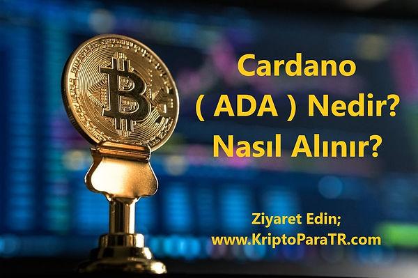 Cardano (ADA) Nedir? Nasıl Alınır?