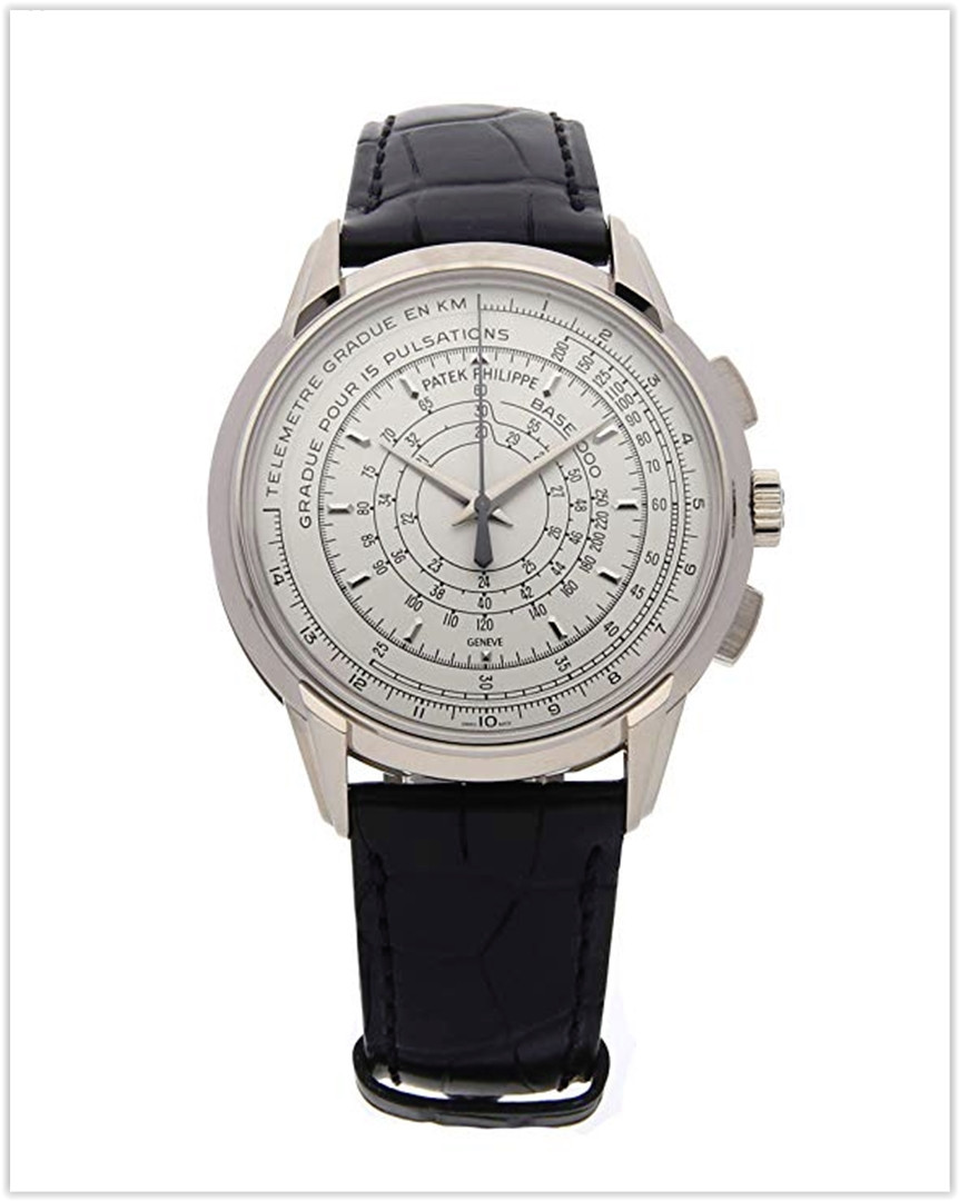 Patek Philippe Chronograph Mechanical (Automatic) Silver Dial Men's Watch 5975G-001 best price