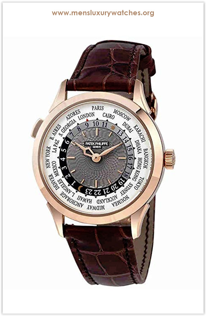 Patek Philippe Complications Automatic World Time Gold Men's Watch the best price