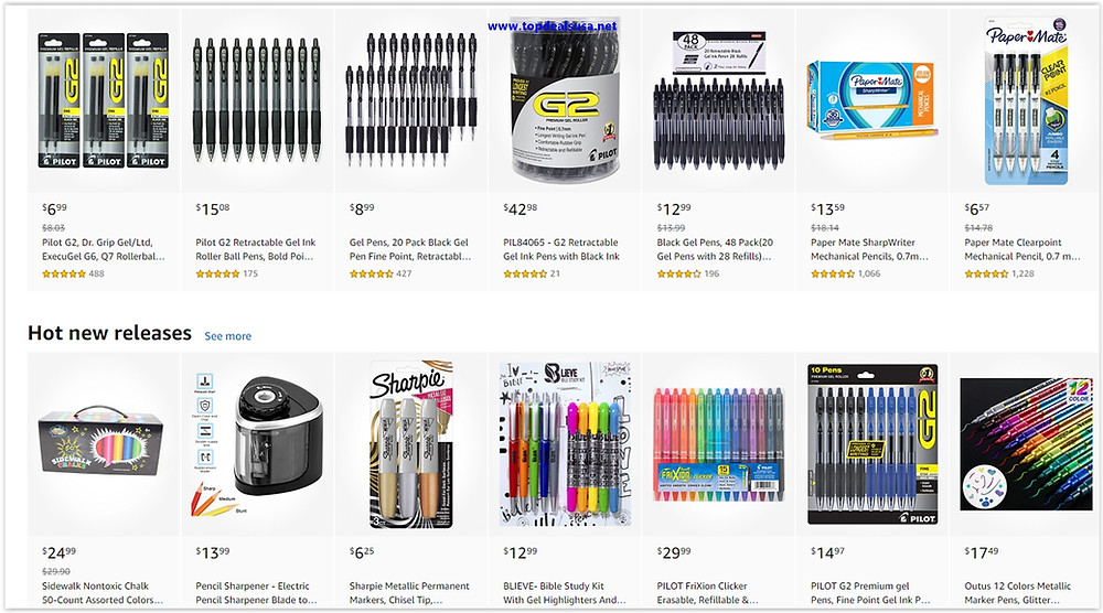 Best Buy Deals for Office Pens Up to 70% Discount