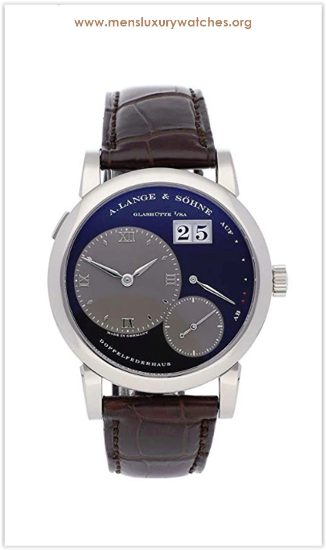 A. Lange & Sohne Lange 1 Mechanical (Hand-Winding) Black Dial Men's Watch the best price deal
