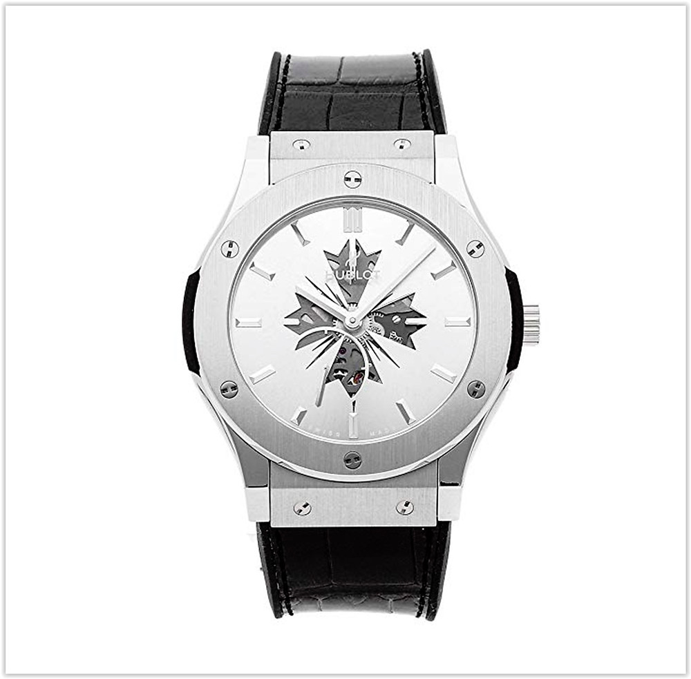 Hublot Classic Fusion Mechanical (Hand-Winding) Silver Dial Men's Watch buy online