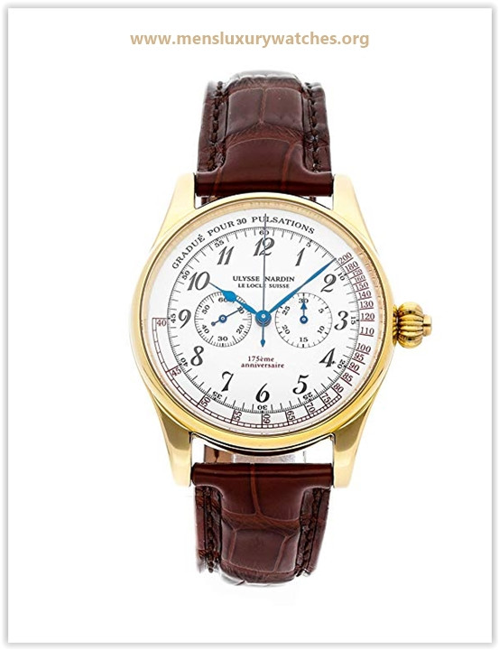 Ulysse Nardin Classico Mechanical (Hand-Winding) White Dial Mens Watch Price May 2019