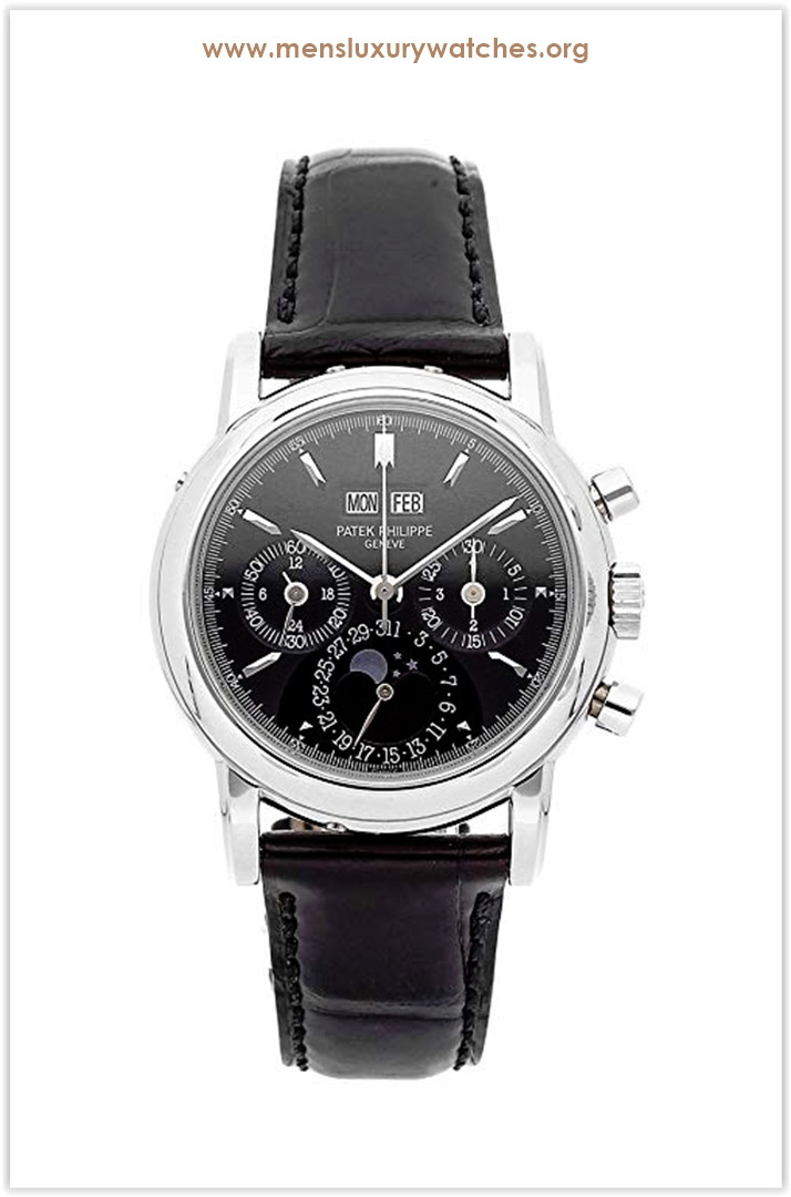 Patek Philippe Grand Complications Mechanical (Hand-Winding) Black Dial Men's Watch 3970EP-020 the best price