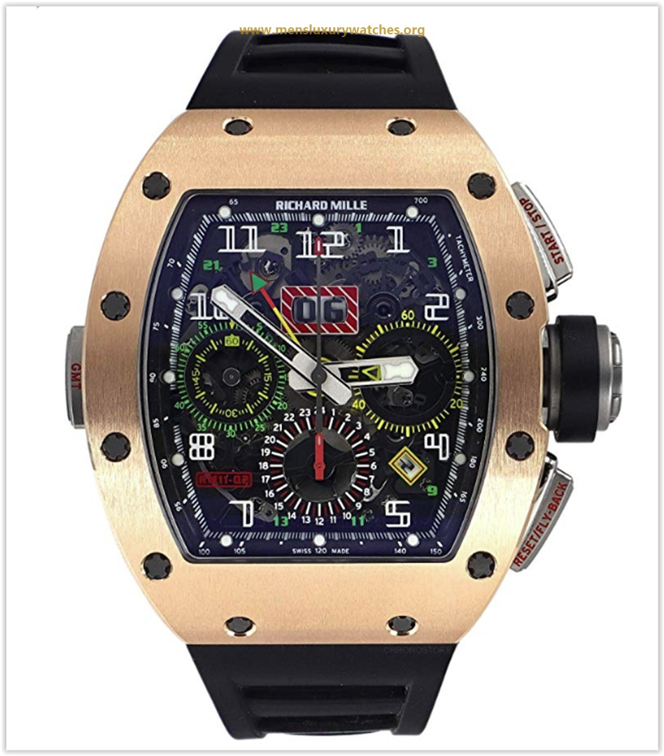 Richard Mille RM 011 Automatic-self-Wind Male Watch RM011-02