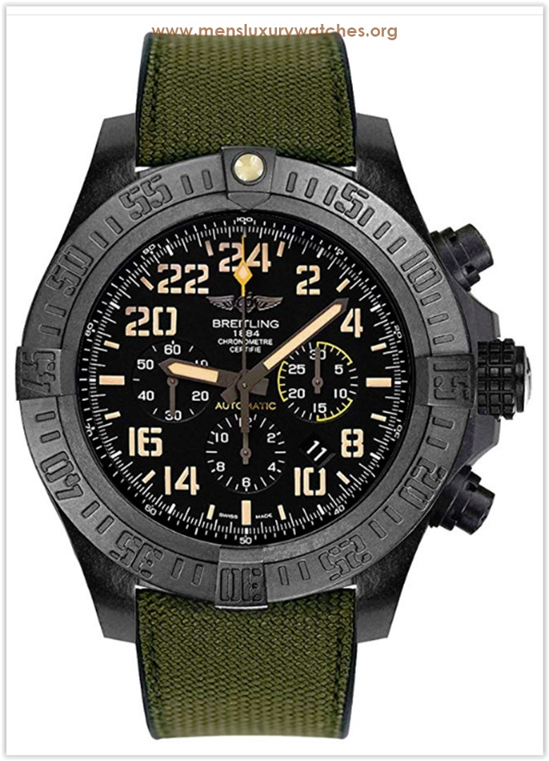 Breitling Avenger Hurricane Military Automatic Men's Watch Price