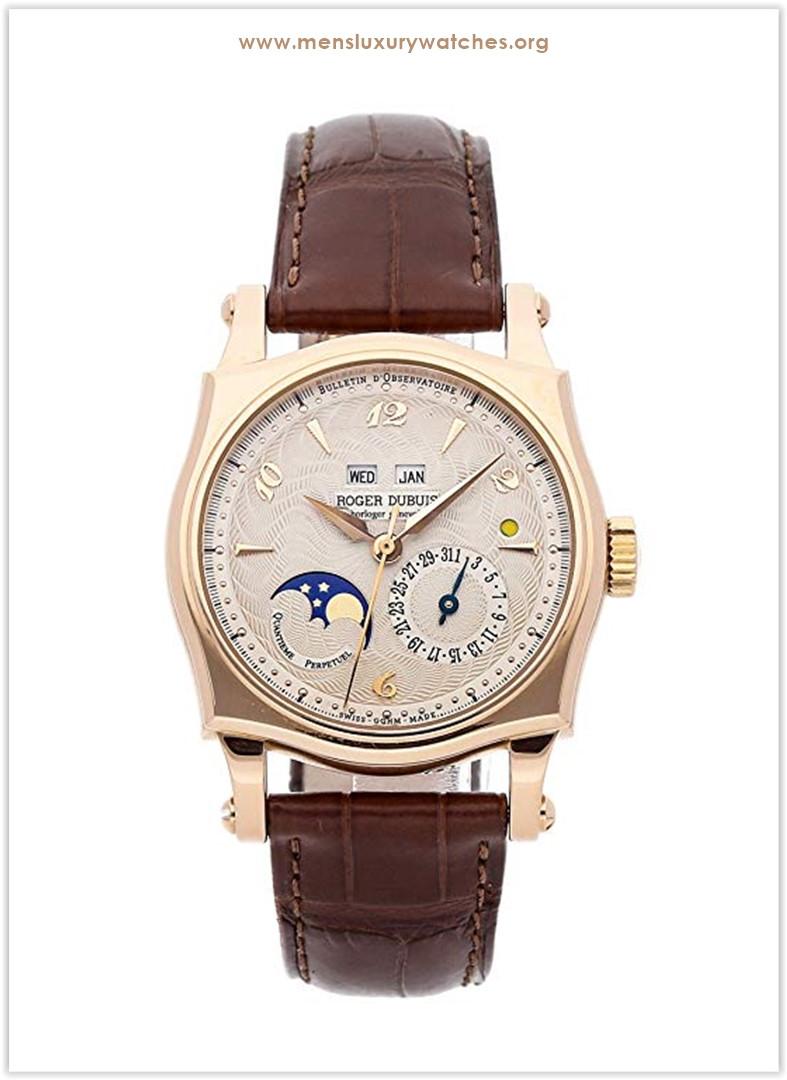 Roger Dubuis Sympathie Mechanical (Automatic) Silver Dial Men's Watch Price