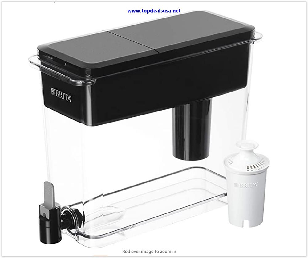 Best Buy Brita Ultra Max Filtering Dispenser, Extra Large 18 Cup, Black