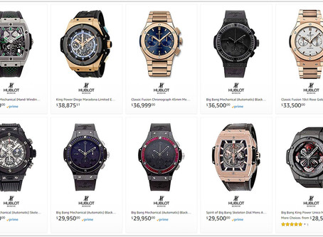 Hublot men's watches price list