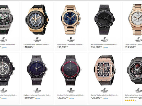 Hublot men's watches price list