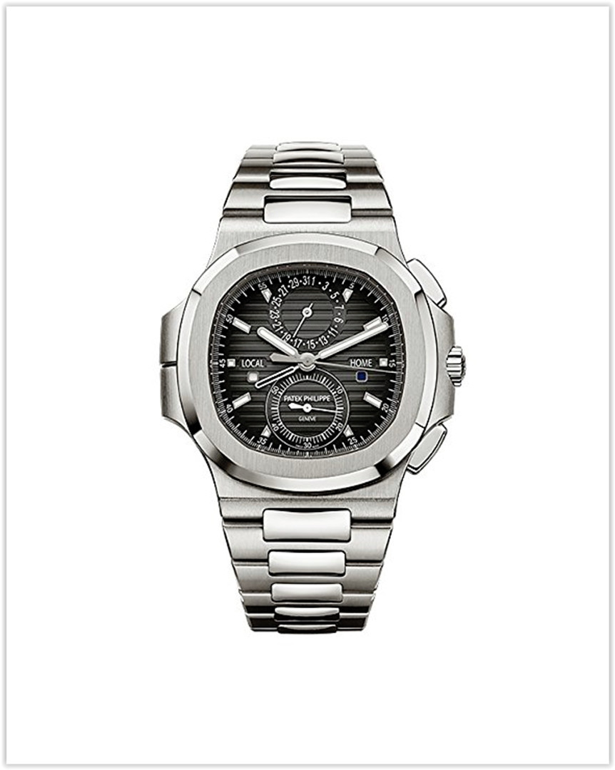 Patek Philippe Nautilus Travel Time Chronograph Stainless Steel  Men's Watch best price