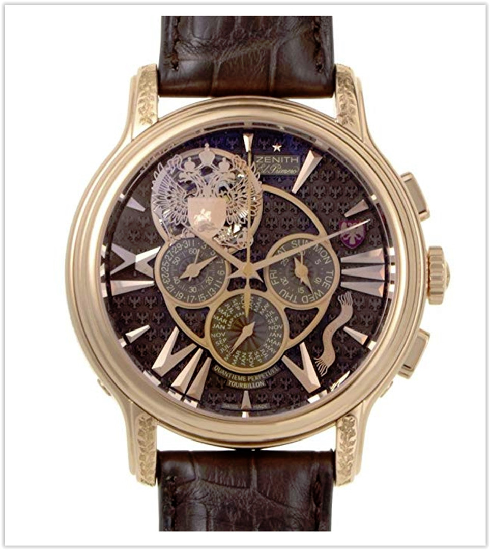 Zenith Automatic-self-Wind Male Watch