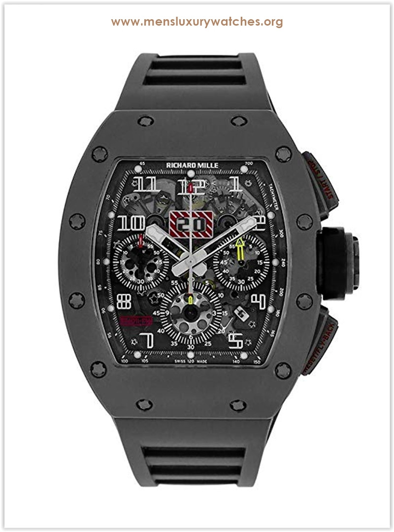 Richard Mille Felipe Massa Titanium Flyback Chronograph RM011 Men's Watch the best price