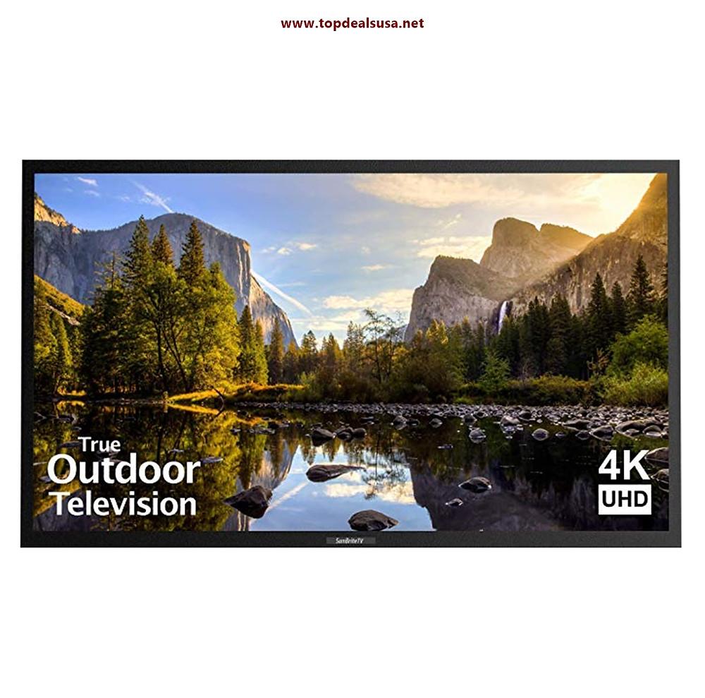 SunBriteTV Outdoor TV 55-Inch Veranda (1st Gen) 4K Ultra HDTV LED Black best buy