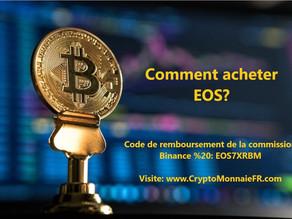 Comment acheter EOS coin?