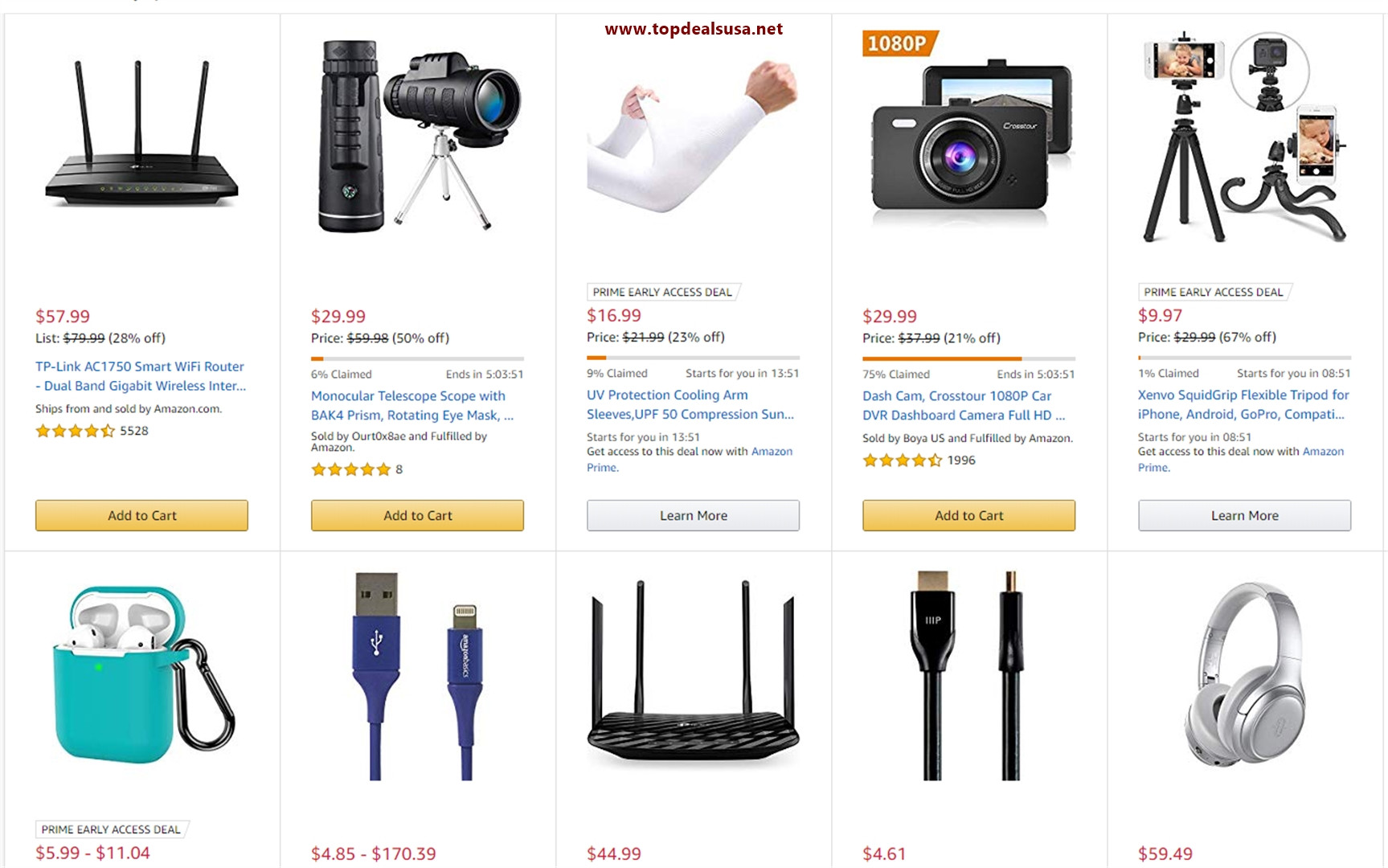 Electronic Deals | Top Deals USA | Discounts | Coupons