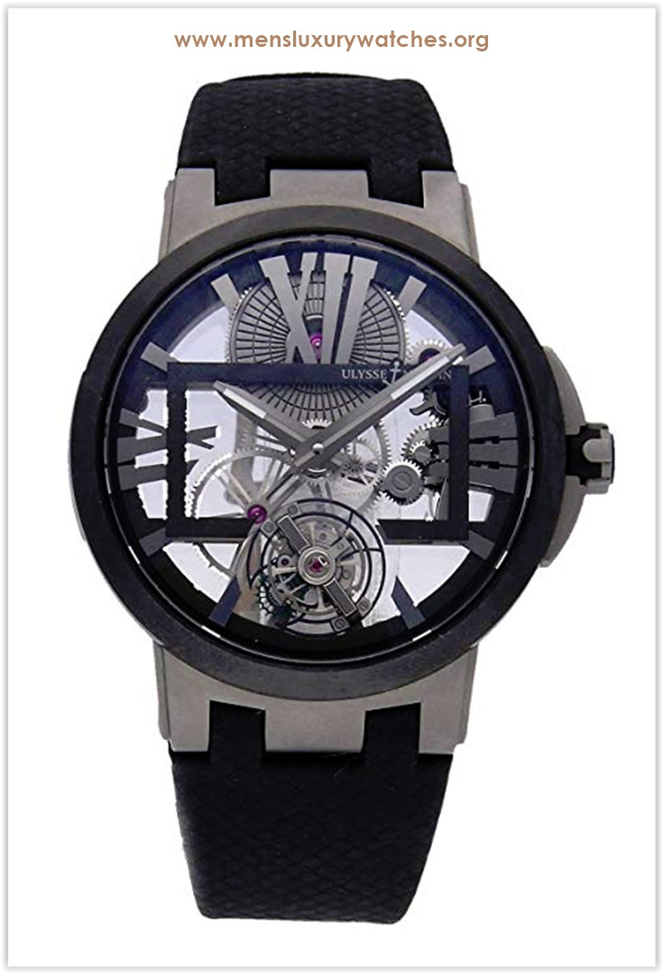 Ulysse Nardin Executive Mechanical (Hand-Winding) Skeletonized Dial Men's Watch the best price