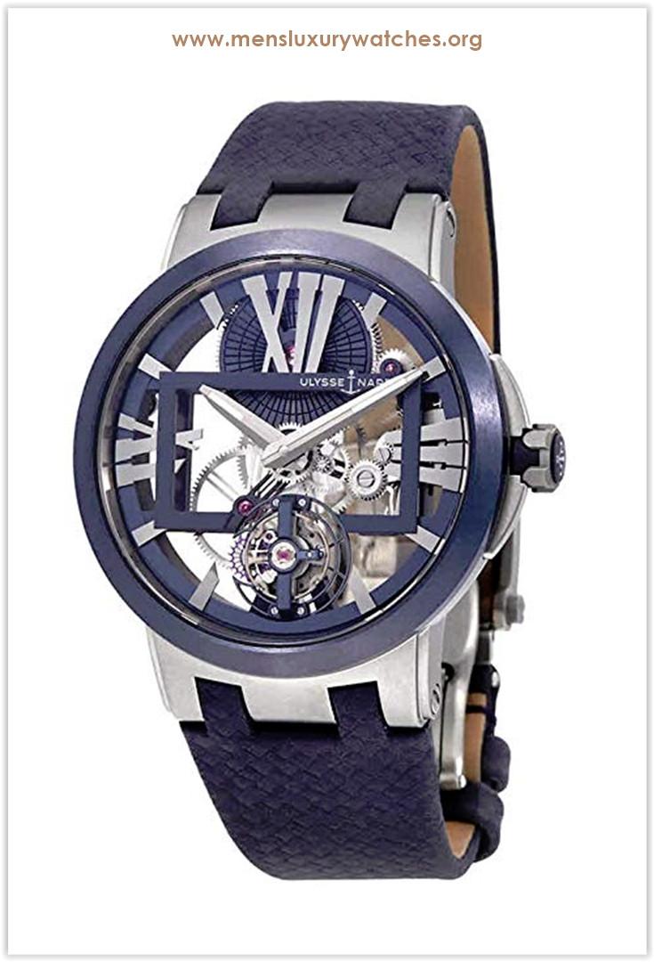 Ulysse Nardin Executive Skeleton Tourbillon Hand-Wound Men's Watch the best price