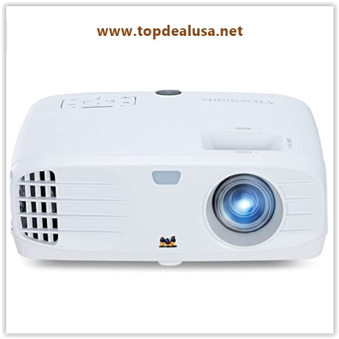 ViewSonic 1080p Projector with 3500 Lumens DLP 3D Dual HDMI and Low Input Lag for Gaming, Enjoy Netflix Streaming