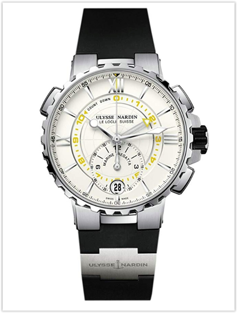 Ulysse Nardin Marine Regatta Stainless Steel Rubber Men's Watch Price