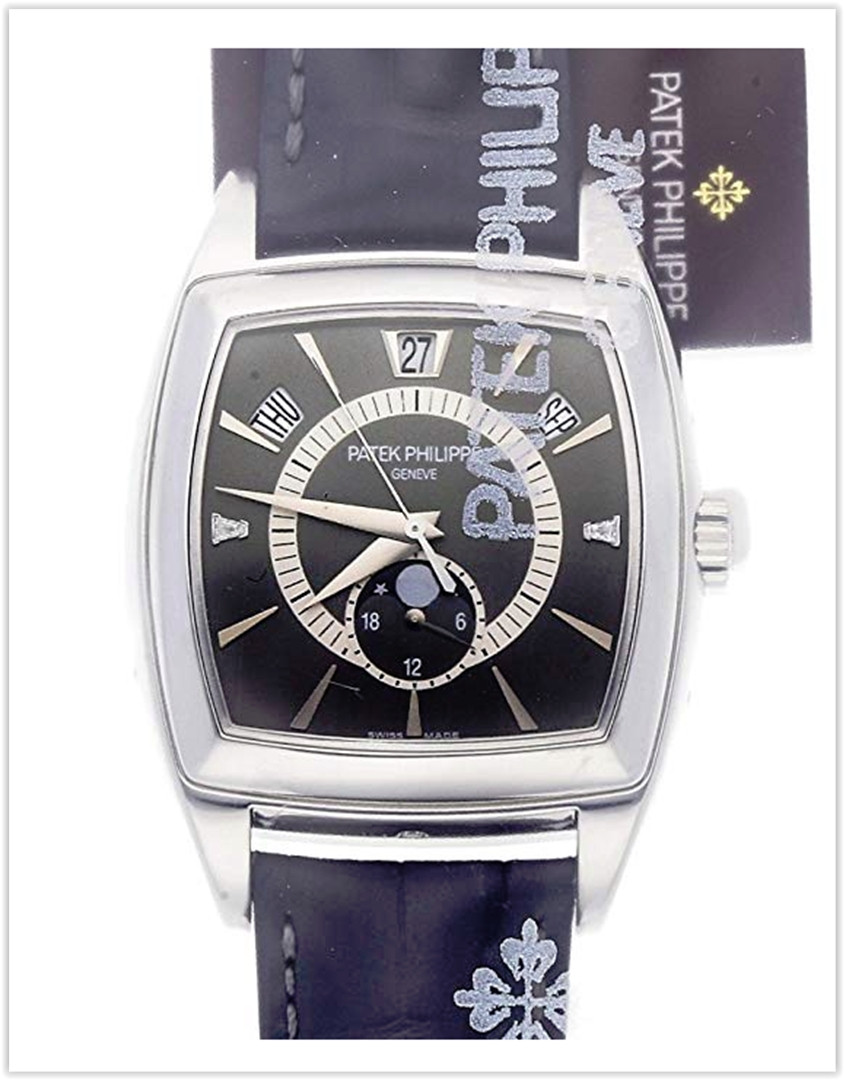 Patek Philippe Gondolo Mechanical (Automatic) GreyCharcoal Dial Men's Watch best price