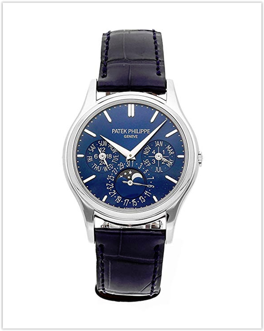 Patek Philippe Grand Complications Mechanical (Automatic) Blue Dial Men's Watch 5140P-001 best price