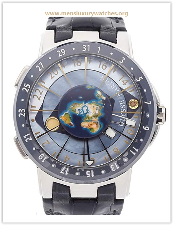 Ulysse Nardin Executive Mechanical (Automatic) Blue Dial Mens Watch Price May 2019