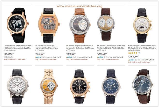 To buy New Gold Watches for men