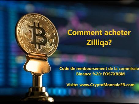 Comment acheter Zilliqa (Zil)?