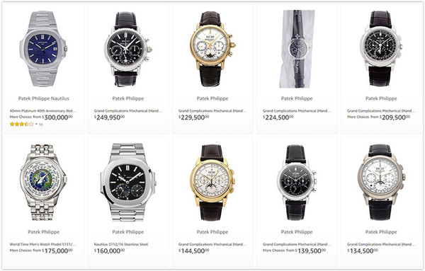 The Patek Philippe Online Watch Store