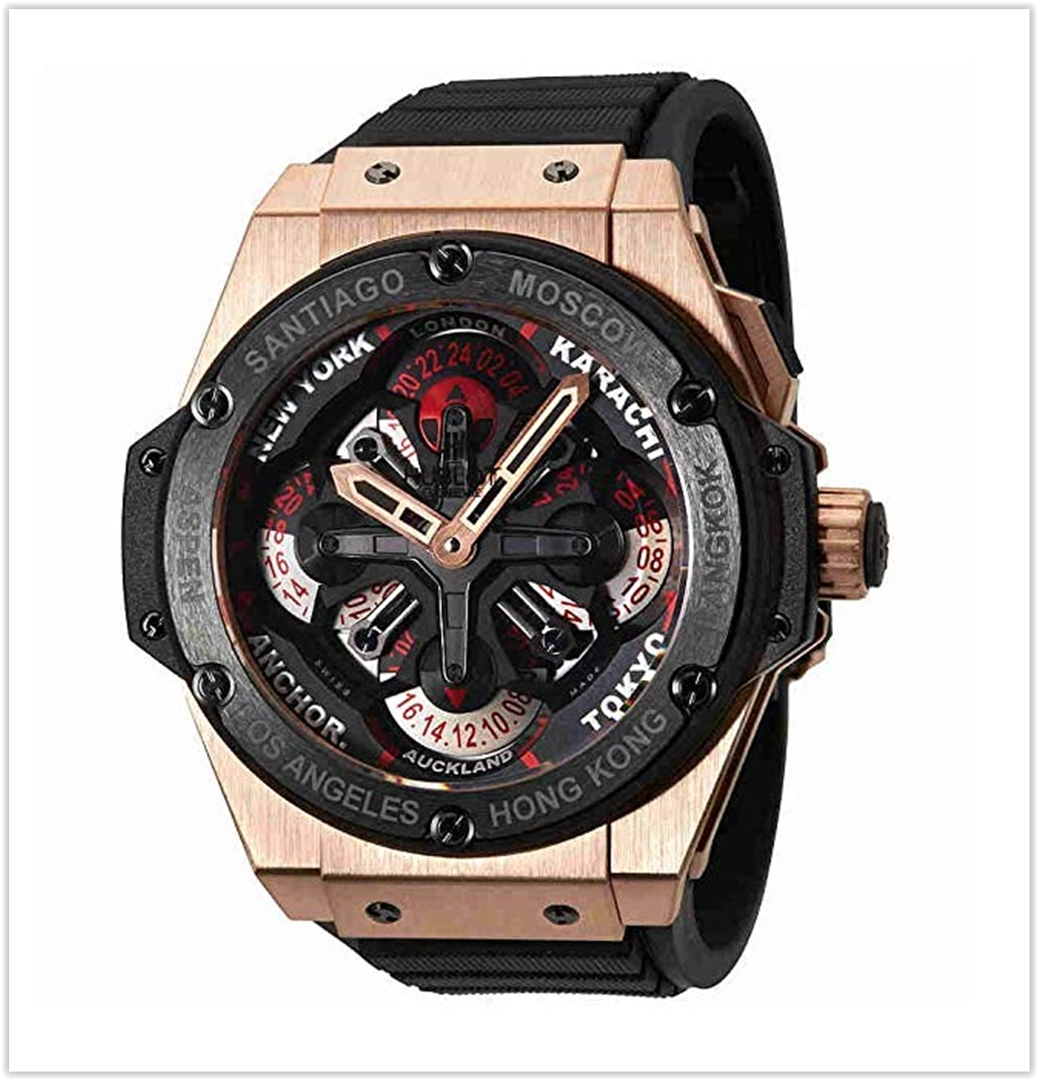 Hublot Big Bang Men's Chrono Auto Rose G