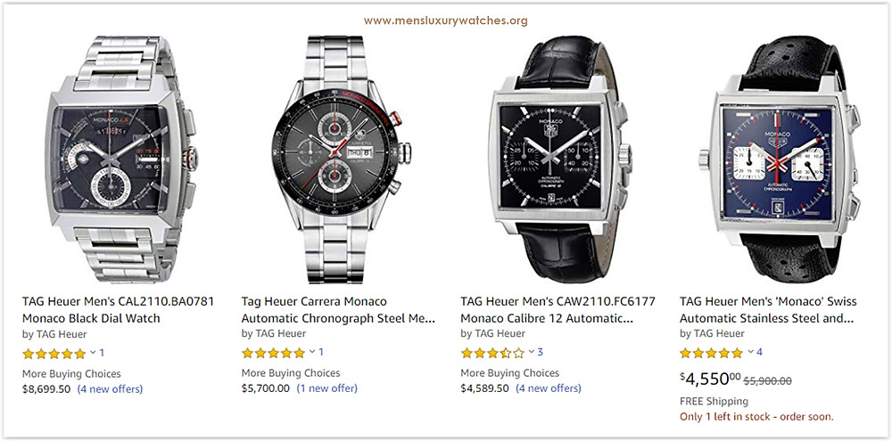 TAG Heuer Monaco with the best price