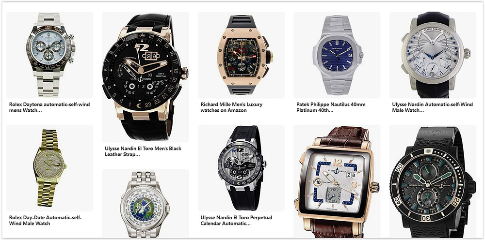 The Best Black Friday Men's luxury watches deals 2018
