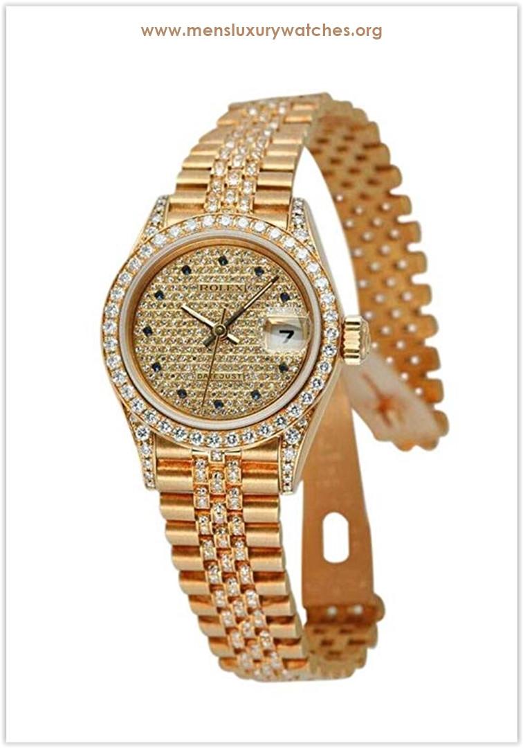 Rolex Datejust Automatic-self-Wind Female Watch Price