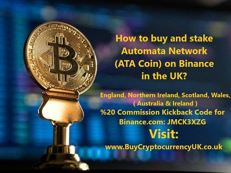 How to buy and stake Automata Network (ATA Coin) on Binance in the UK?
