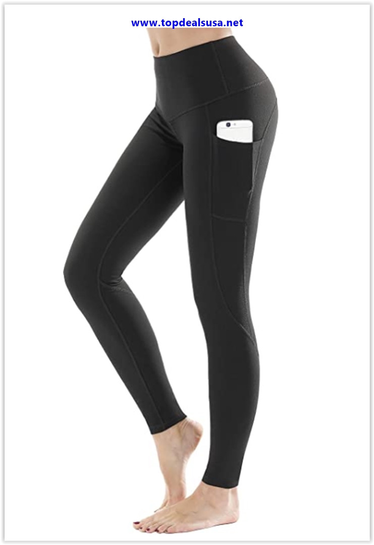 Best buy LifeSky High Waist Yoga Pants Workout Leggings for Women with Pockets Tummy Control Soft Pants
