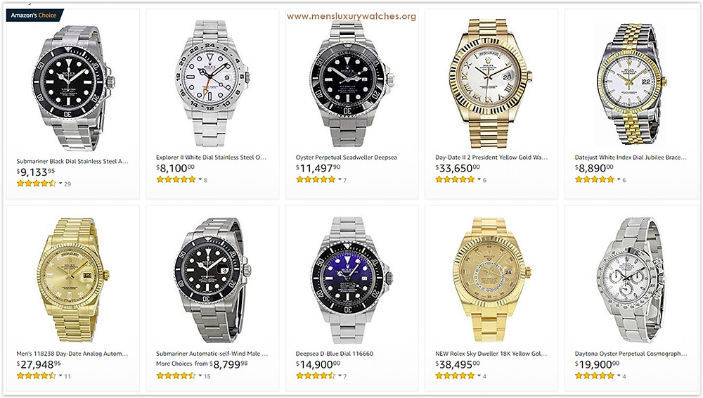 The most trendy Rolex Men's Watches