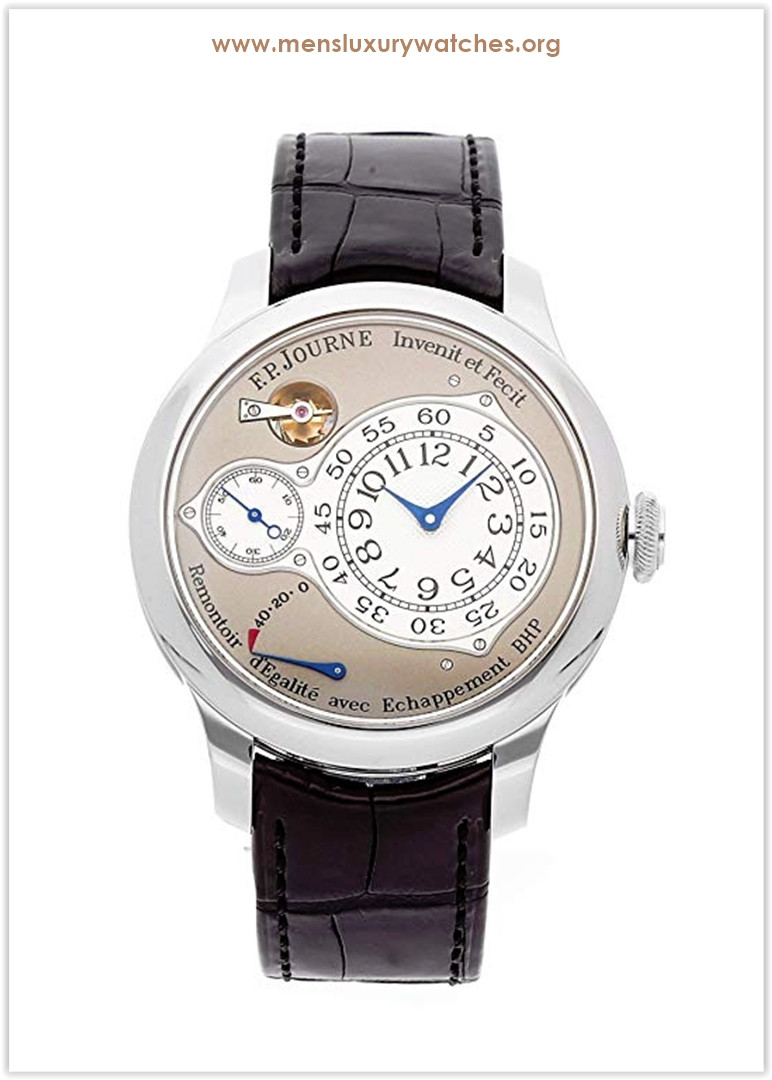 F.P. Journe Chronometre Optimum Mechanical (Hand-Winding) Grey Dial Mens Watch Chronometer Price