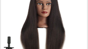 Mannequin Head Hairdresser Training Head Manikin Cosmetology Doll Review